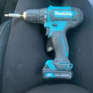 Makita Drill with Charging Port for Sale in Placentia, CA