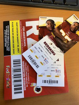 Redskins vs Eagles tickets for Sale in Stafford, VA