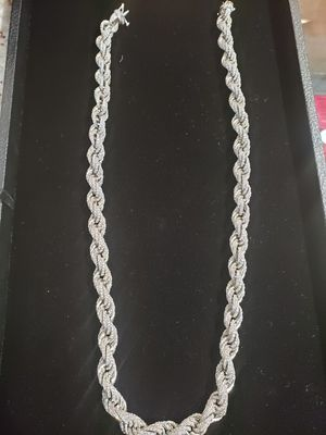 Crushed Diamond Necklace for Sale in Midlothian, TX