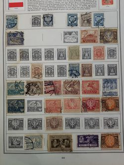 4 Sheet Of Old Poliska Stamps Lot GfD Y 66 for Sale in Katy,  TX