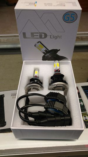 LED conversion headlight bulbs for all cars for Sale in Houston, TX
