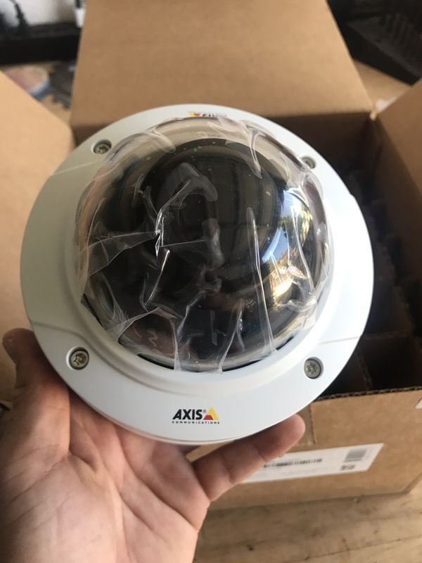 Axis P3225-LV MKII Network Dome Camera - Vandalproof - 1080p - Day/Night