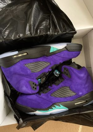 Jordan 5 retro alternate grape for Sale in MD, US