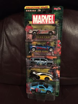 NIP MARVEL SERIES 2 MAISTO 5 CAR PACK for Sale in Wichita, KS