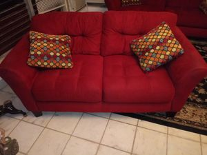 Velour Couch/Loveseat for Sale in Miami Beach, FL