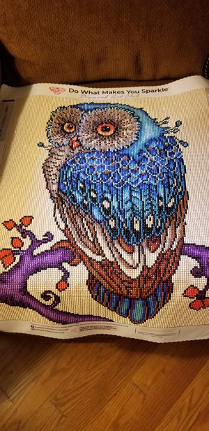 Diamond owl painting for Sale in Lynchburg, VA