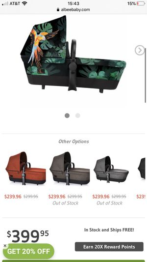 Cybex bassinet for Sale in Fort Lauderdale, FL