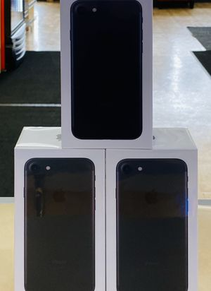 iPhone 7 32gb brand new in box for boost mobile,price includes phone first month of service and activation fee! This is only for new or port in custo for Sale in Downers Grove, IL