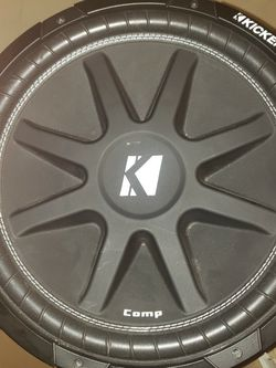 "Kicker 43C154 Subwoofer 15"" Single Coil Like New Condition for Sale in Spring Valley,  CA"