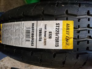 1) 225/75R15 Westlake 10ply trailer tire with 5on4.5 wheel for Sale in Fairview, OR