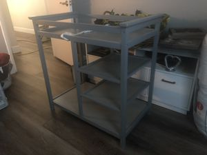 Baby Changing Table w/ Storage for Sale in Fontana, CA