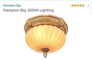 New Hampton Bay light fixture for Sale in Pinellas Park, FL