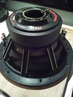HX2 FOSGATE twelve trade for a mono amp 500 rms n up for Sale in Tracy, CA