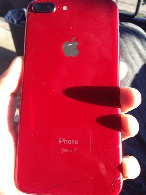 iPhone 8 Plus red 256gb (At&t service ) for Sale in Alexandria, VA