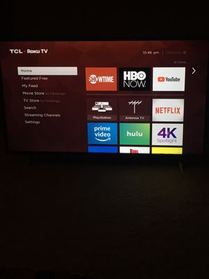 TCL Roku Smart TV 49' for Sale in Arlington, VA