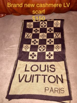 Louis Vuitton cashmere uni sex scarf for Sale in Phoenix, AZ