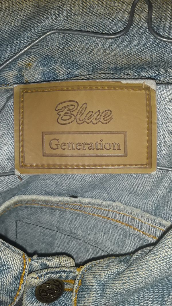 Blue Generation Denim Jacket