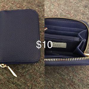 Small Blue Wallet for Sale in Florham Park, NJ