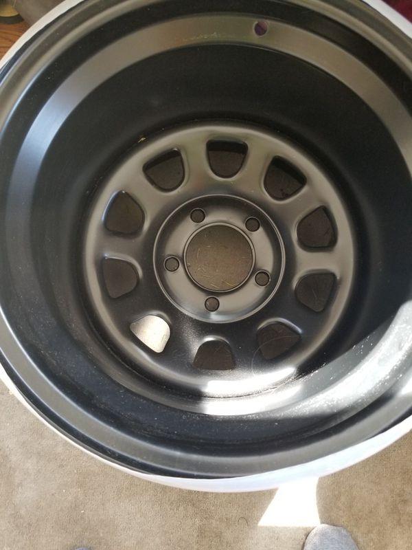 15x12 Black Rock Wheels 5x4.75