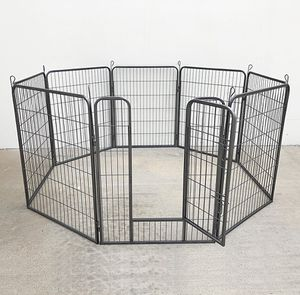 """New in box $110 Heavy Duty 40"""" Tall x 32"""" Wide x 8-Panel Pet Playpen Dog Crate Kennel Exercise Cage Fence Play Pen for Sale in South El Monte, CA"""