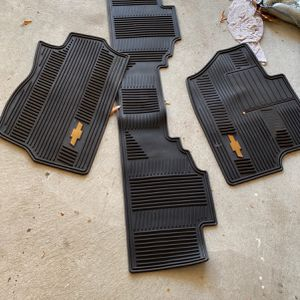 Chevy All Weather Mats for Sale in East Greenwich, RI