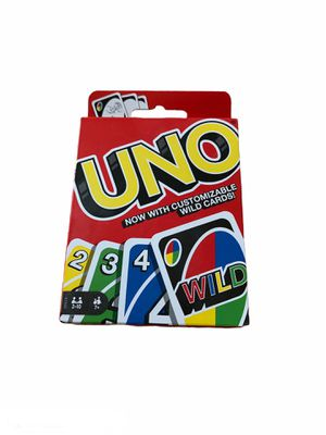 NWT UNO CARD GAME FAMILY GAME NIGHT INDOORS FUN for Sale in Montgomery Village, MD