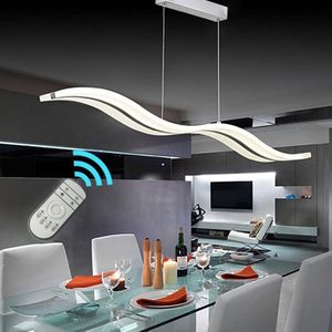 Modern Wave LED Pendant Light Dimmable for Sale in Chicago, IL