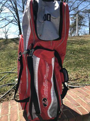 Louisville slugger baseball team gear bag for Sale in Millersville, MD