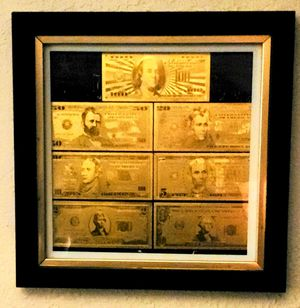 Special Collectible Uncirculated 24kt Gold Notes for Sale in Oklahoma City, OK