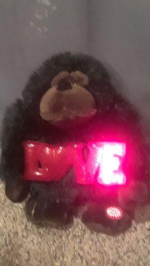 Love teddy bear that sings for Sale in Saint Paul, MN