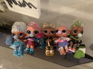 Lol winter disco surprise dolls for Sale in South Gate, CA
