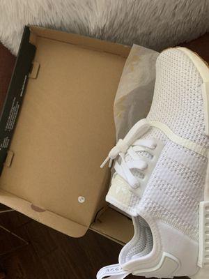 Adidas NMD R1- white / gum for Sale in Atlanta, GA