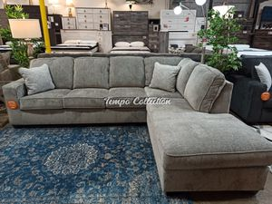 Sectional Sofa, Light Grey, SKU# ASH87214TC for Sale in Norwalk, CA