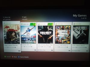 Xbox 360 games for Sale in Redlands, CA