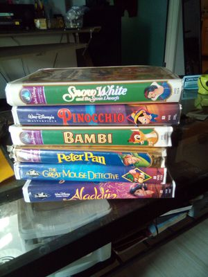 Old dimond classics kids movies worth allot more than what I'm asking for for Sale in Anchorage, AK