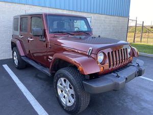 2007 JEEP WRANGLER SAHARA 4x4 CLEAN TITLE $12500 NEGOTIABLE for Sale in Winter Park , FL
