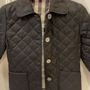 Burberry Quilted Girls Black Jacket for Sale in Norcross, GA