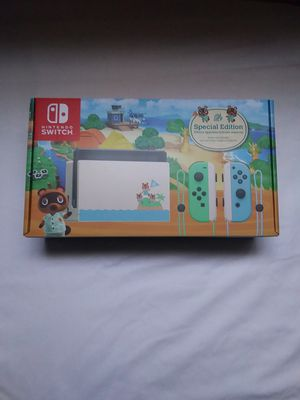 Nintendo Switch Animal Crossing Special Edition New Mint In Box Hasn't Been Played Once Everything In Original Packaging for Sale in Murrieta, CA
