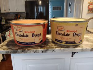 Vintage chocolate drop containers for Sale in Westerville, OH