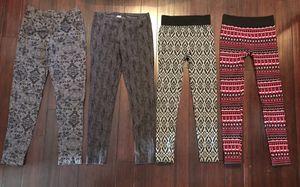 Lot of 4 sz small -medium leggings pants for Sale in Hendersonville, TN