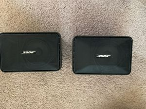 Bose Speakers it says 10 to 60 W I used them as my rear surround sound speakers for Sale in Glendale, AZ