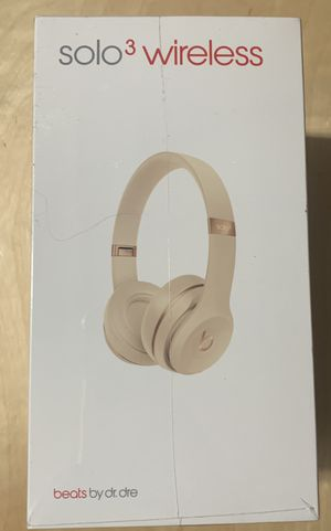 Beats Solo 3 wireless headphones for Sale in El Cajon, CA