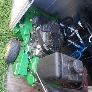 John Deere walk behind self propelled mower for Sale in Houston, TX