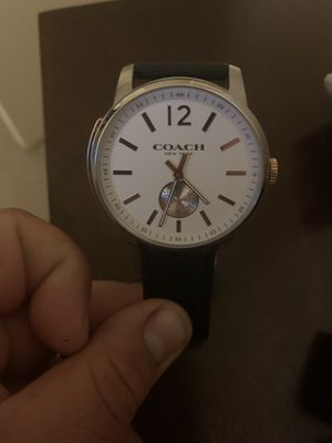 Men's coach watch for Sale in Kentfield, CA