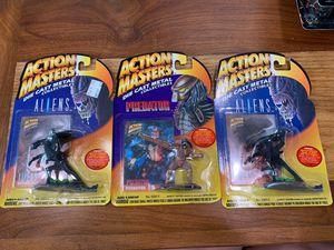 Action masters, 3 figures. 2 aliens, 1 predator for Sale in Buena Park, CA