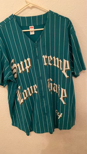 """Supreme """"Love/Hate"""" Jersey for Sale in San Diego, CA"""