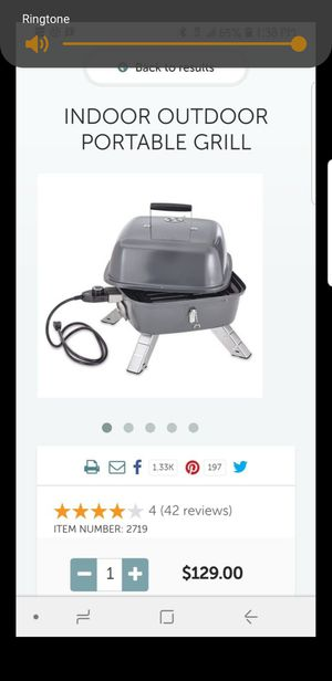 Pampered chef indoor /grill for Sale in Moreno Valley, CA