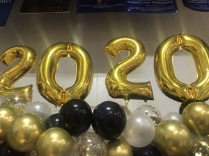 Jumbo 2020 helium balloons, graduation picture balloon, banner n etc for Sale in Kissimmee, FL