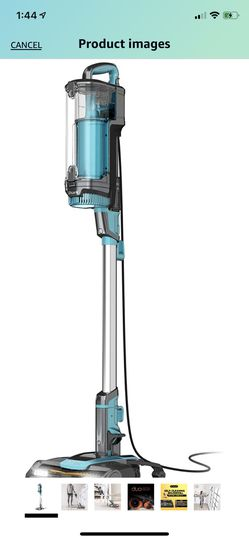 Shark LZ601, APEX UpLight Lift-Away DuoClean with Self-Cleaning Brushroll Stick Vacuum 0.66 qt, Forest Mist Blue for Sale in North Potomac,  MD