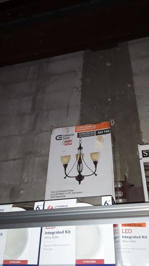 3 lights chandelier for Sale in Lantana, FL